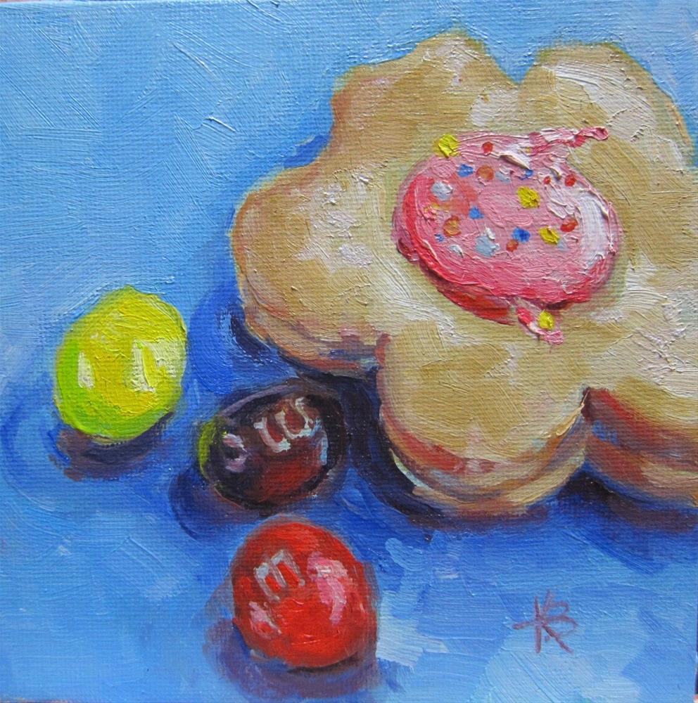 """Lunch"" original fine art by Kathy Bodamer"
