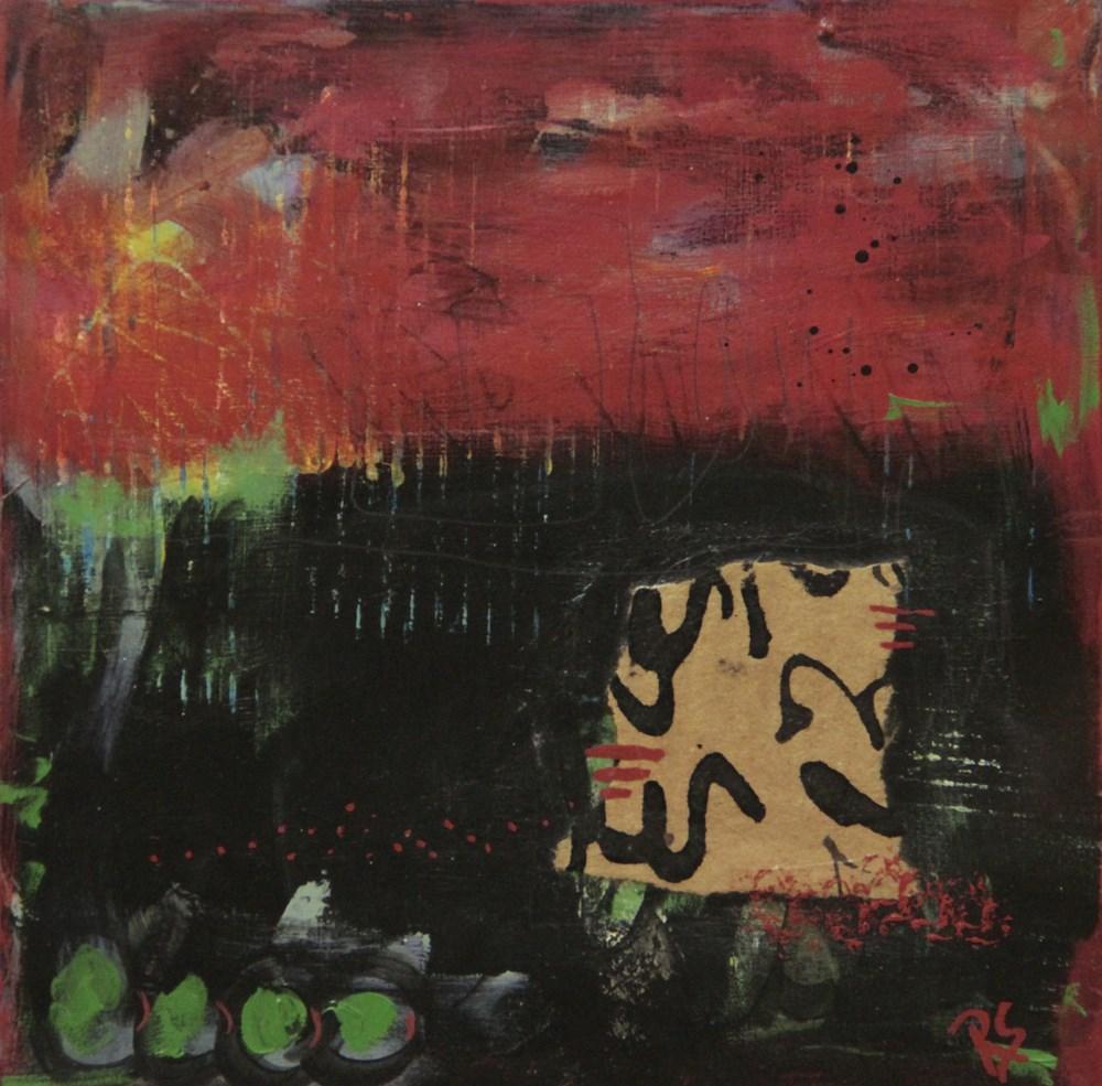 """""""Inward Passages"""" original fine art by Roberta Schmidt ArtcyLucy"""