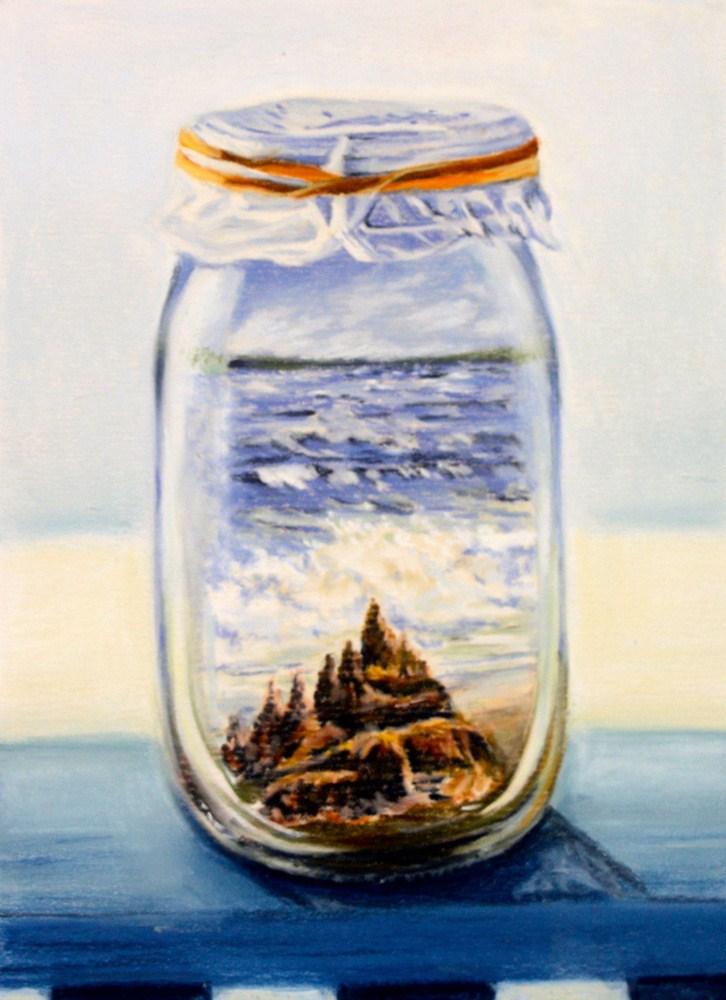 """""""A Captured Bit of Summer"""" original fine art by Jill Bates"""