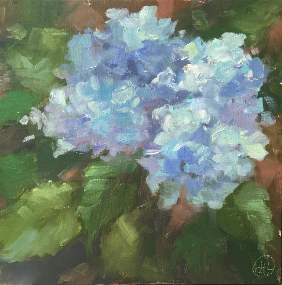 """feeling blue"" original fine art by Dottie  T  Leatherwood"