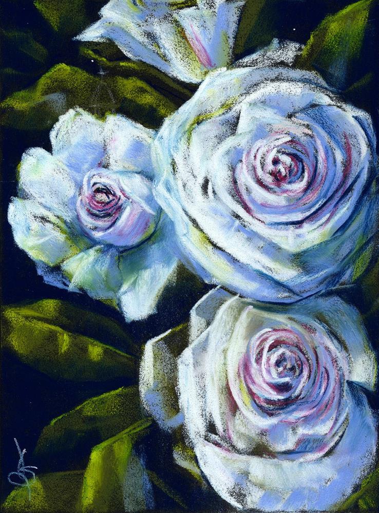 """Roses"" original fine art by Valorie Sams"