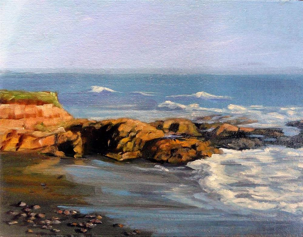 """""""South View From Seal Court"""" original fine art by Cietha Wilson"""