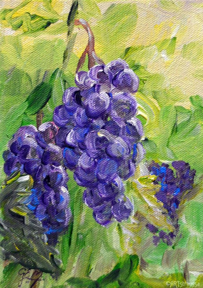 """""""Purple Sweetness"""" original fine art by Gloria Ester"""
