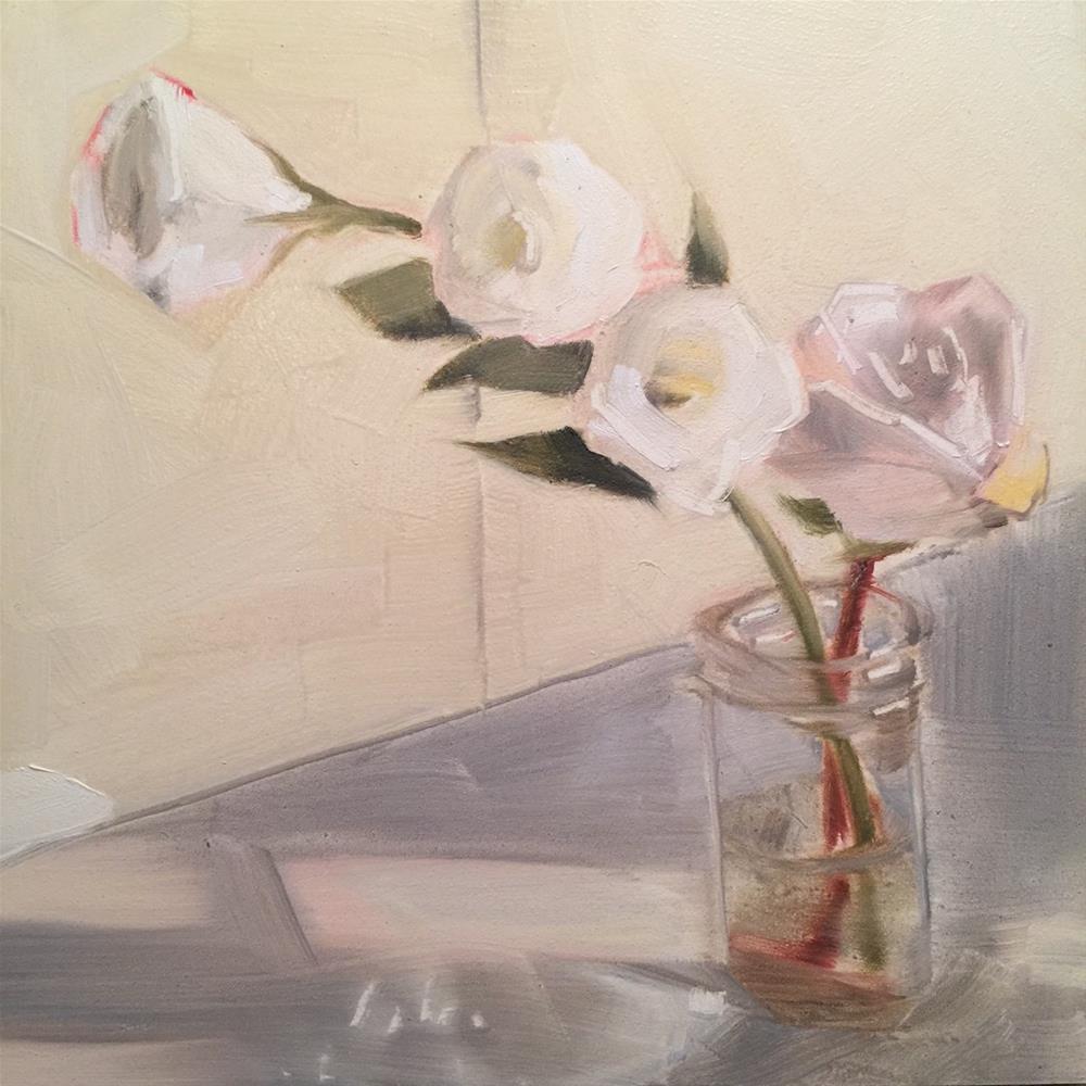 """""""439 Operatic Petals"""" original fine art by Jenny Doh"""