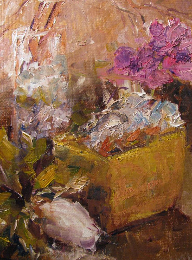 """Still Life at Millstone"" original fine art by Susan Elizabeth Jones"