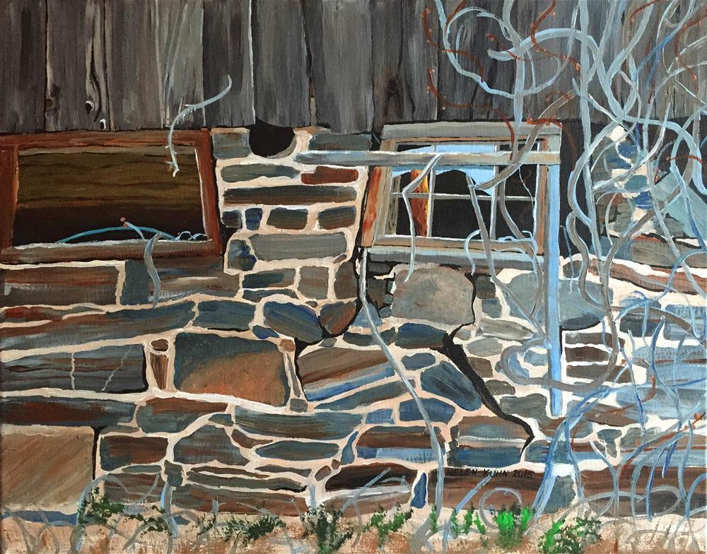"""Windows"" original fine art by Helen Kuhn"
