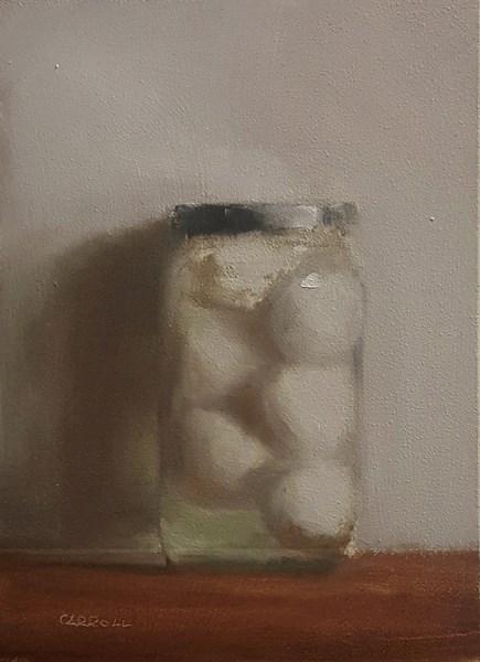 """Pickled Egg"" original fine art by Neil Carroll"