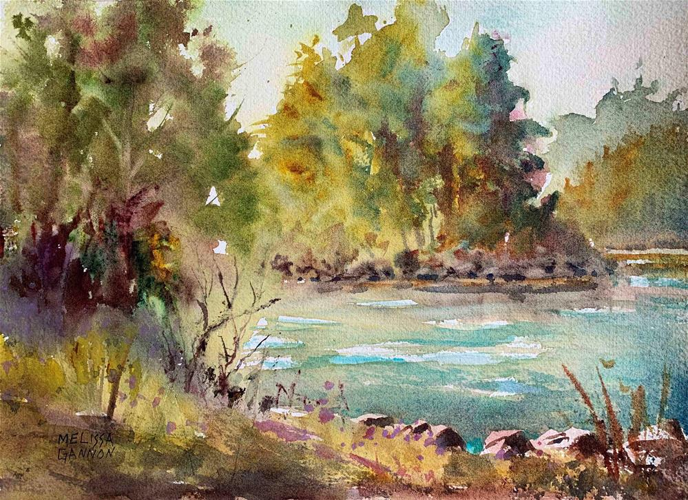 """Richness of Nature"" original fine art by Melissa Gannon"