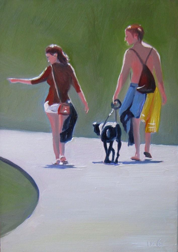 """That Way I Think"" original fine art by Linda McCoy"