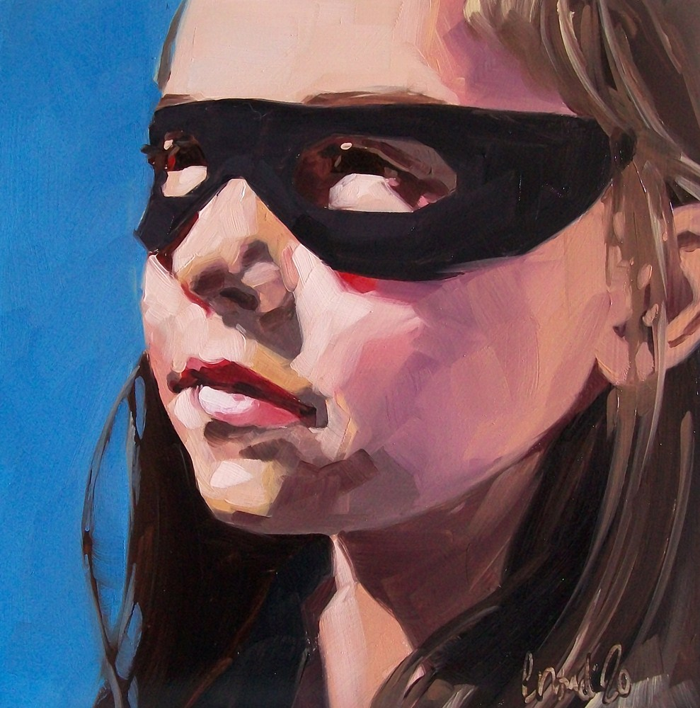 """Hero"" original fine art by Brandi Bowman"
