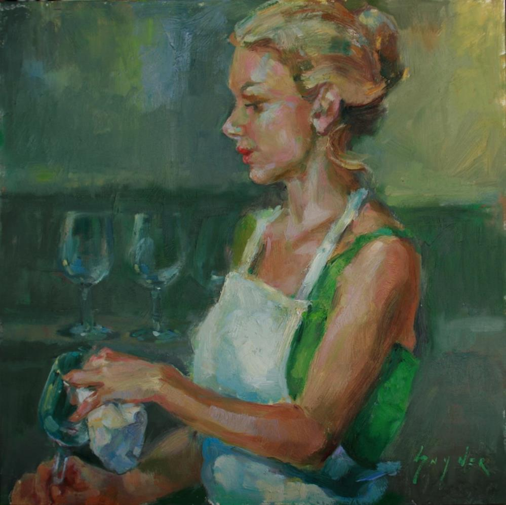 """Shine"" original fine art by Julie Snyder"