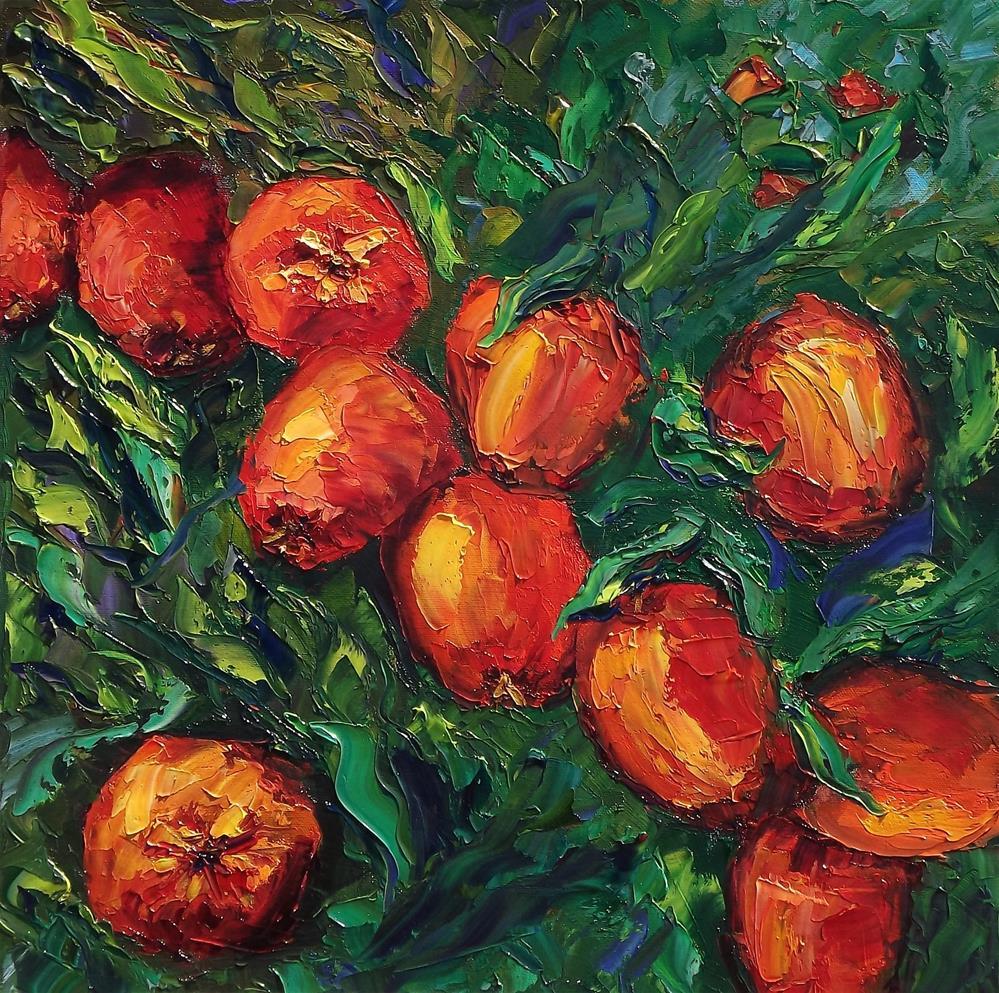 """The Apple Tree"" original fine art by Linda mooney"