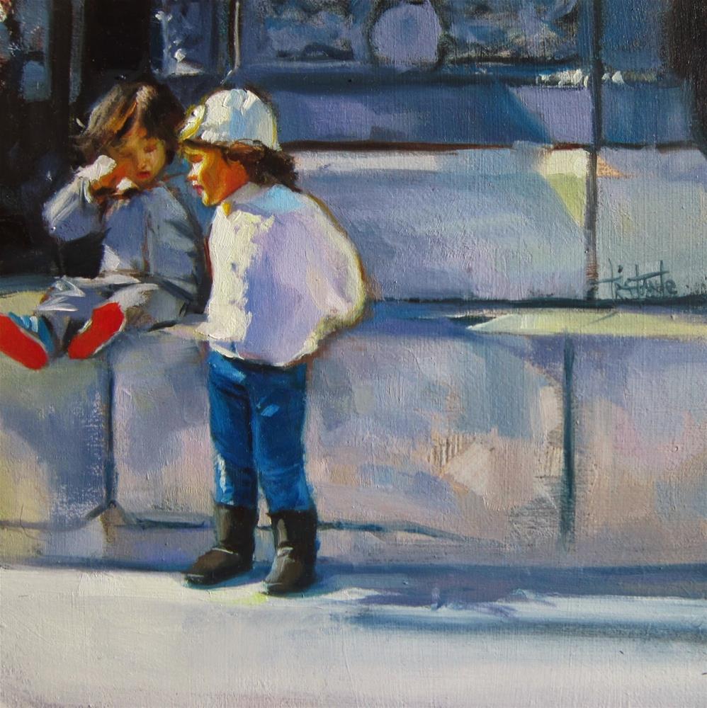 """""""Candela"""" original fine art by Víctor Tristante"""
