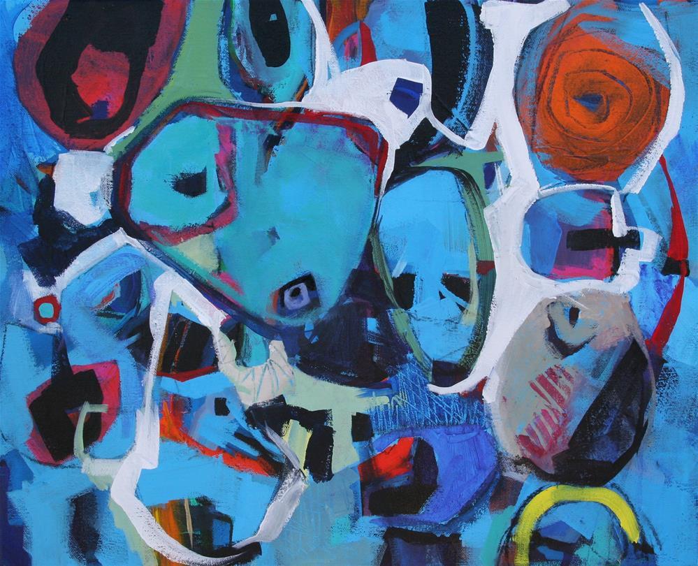 """The breath thief"" original fine art by Kim Rempel"