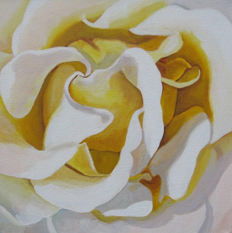 """""""White Beauty"""" original fine art by Lisa Wiertel"""