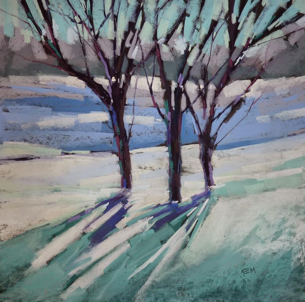 """Transforming the Studio for Christmas"" original fine art by Karen Margulis"