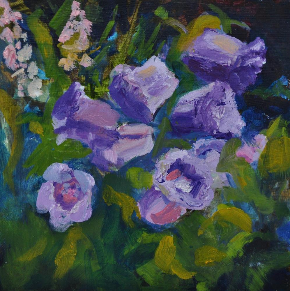 """Canterybury Bells"" original fine art by Catherine Crookston"