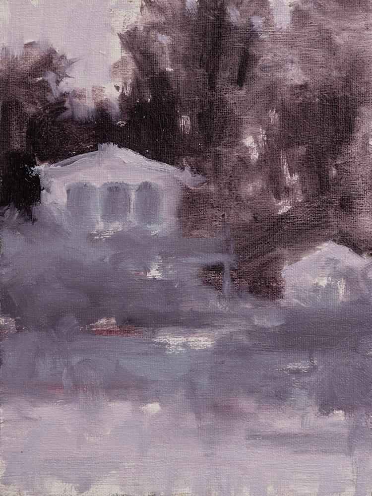 """Dune House Values II (Grayed Lavender)"" original fine art by Todd Zuithof"