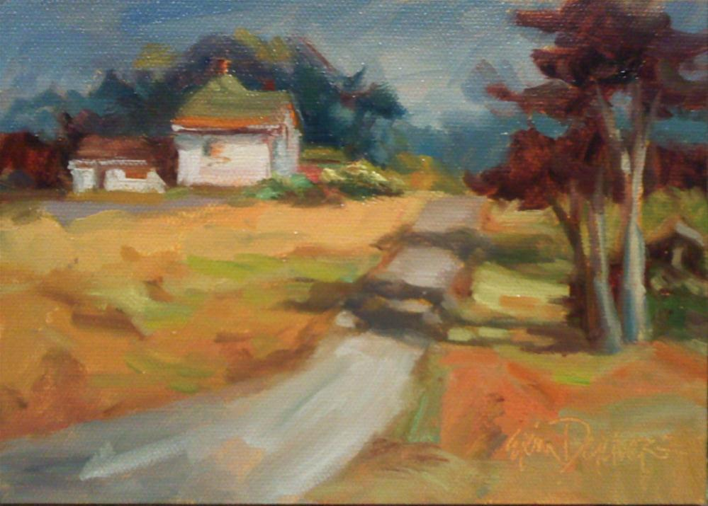 """Up from the Headlands"" original fine art by Erin Dertner"