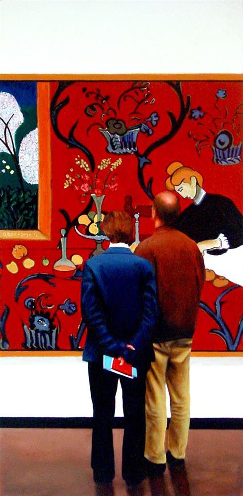 """Red Room"" original fine art by Gerard Boersma"