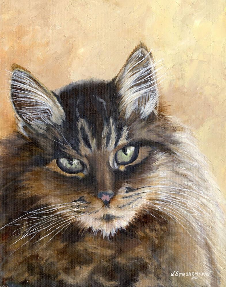 """Tumbleweed"" original fine art by Jeanne Strohrmann"
