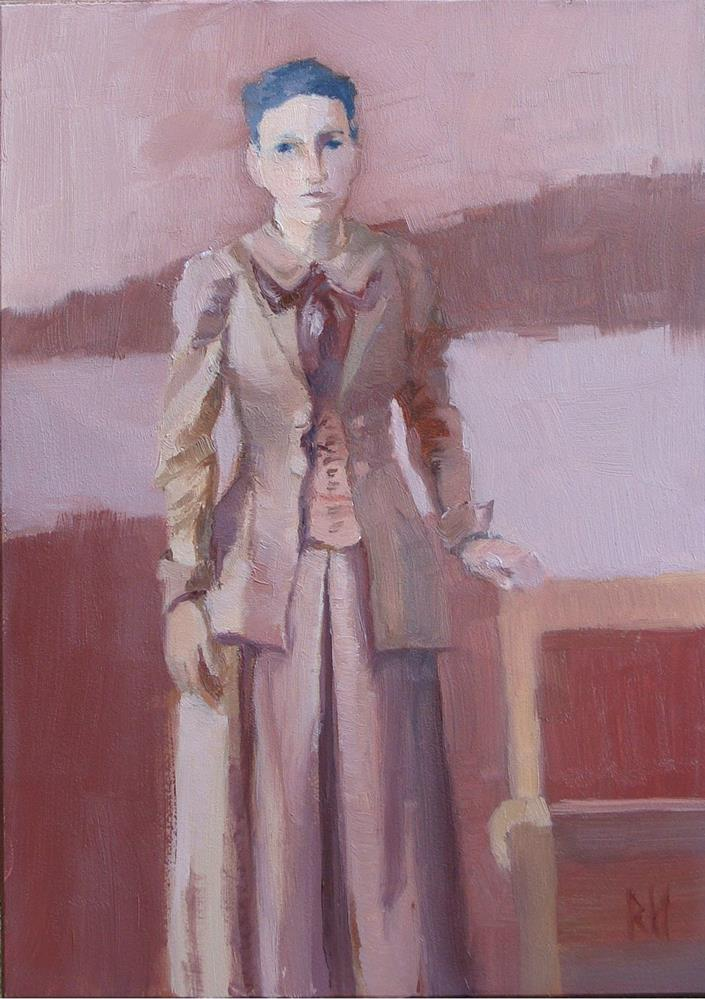 """Emma S."" original fine art by Rebecca Helton"