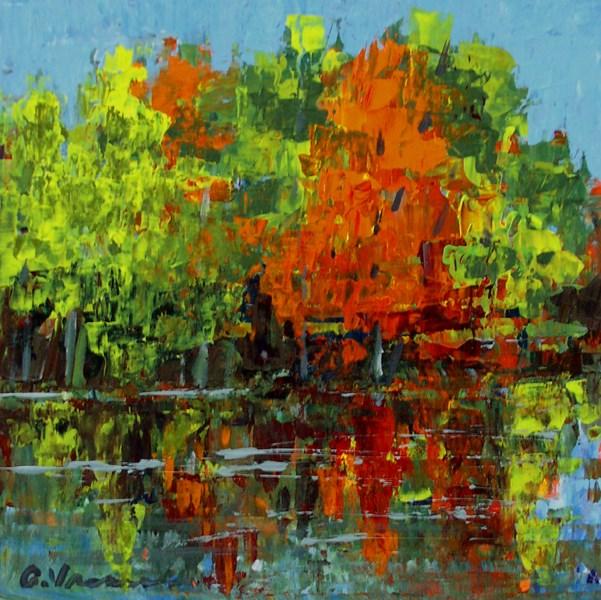 """""""Autumn Foliage II"""" original fine art by Anna Vreman"""