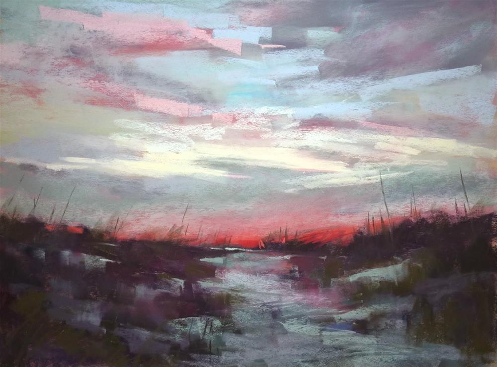 """Finding Inspiration in Familiar Places"" original fine art by Karen Margulis"