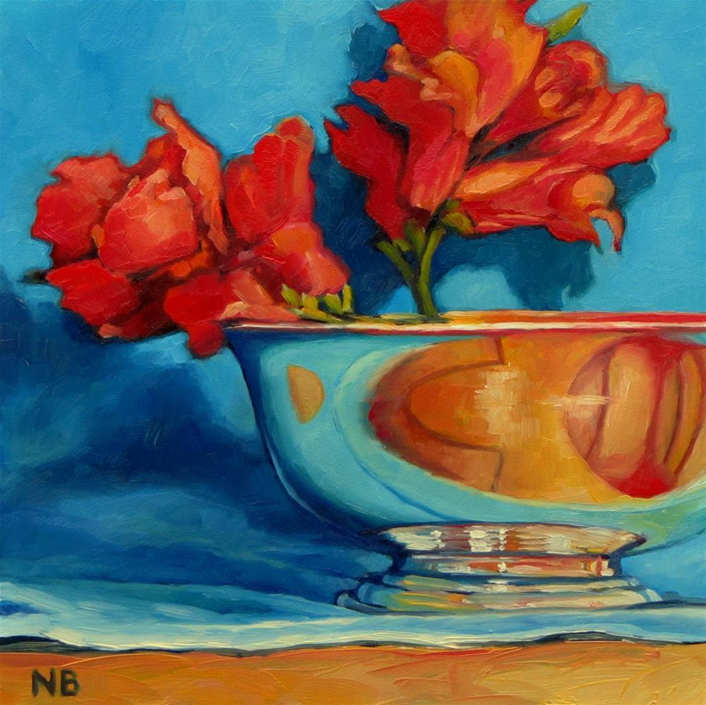 """Snapdragon a Day"" original fine art by Nora Bergman"