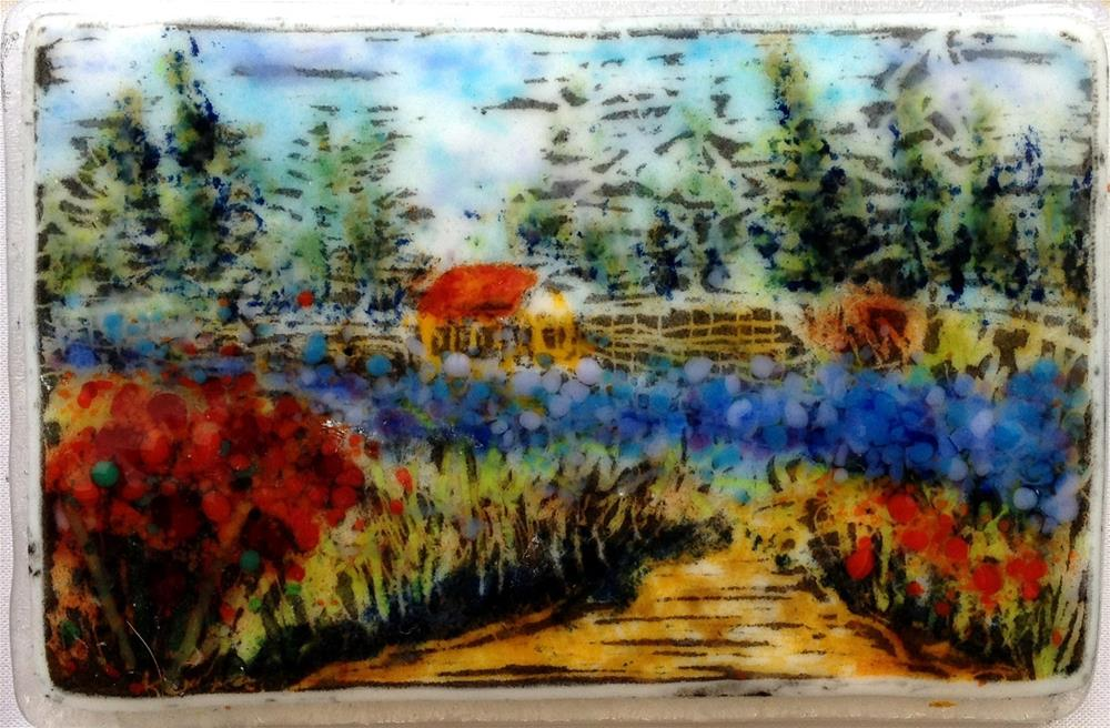 """Summer Garden"" original fine art by Kristen Dukat"