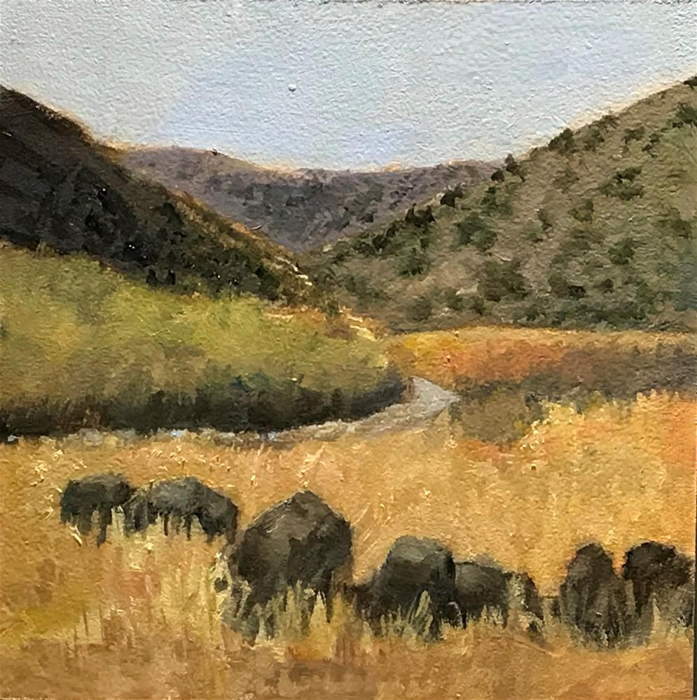 """""""A stop along the road to Zion National Park"""" original fine art by Betty Argiros"""