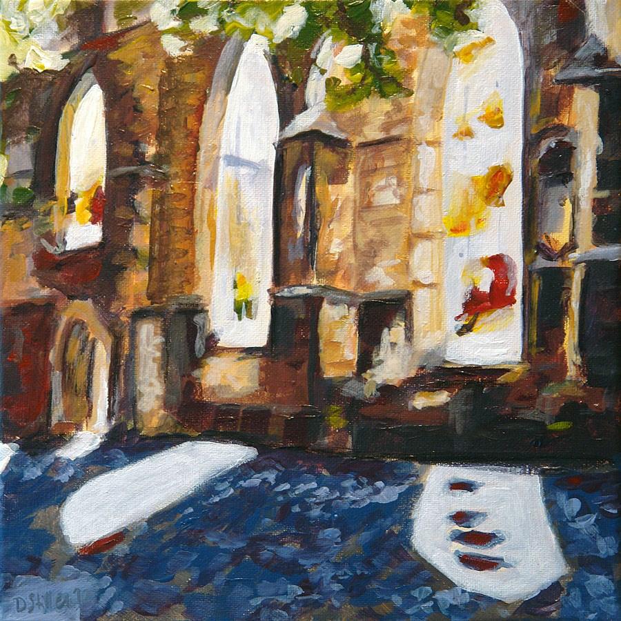 """""""0401 Aegidien Church"""" original fine art by Dietmar Stiller"""