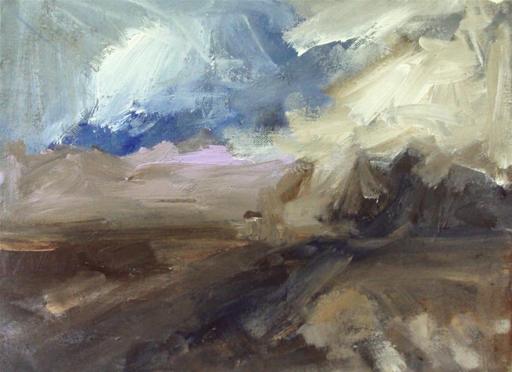 """Clouds"" original fine art by Parastoo Ganjei"