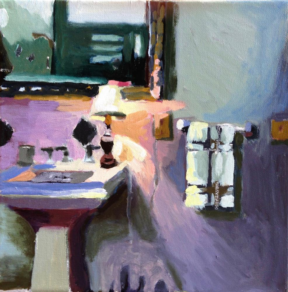 """Night Light "" original fine art by Pamela Hoffmeister"