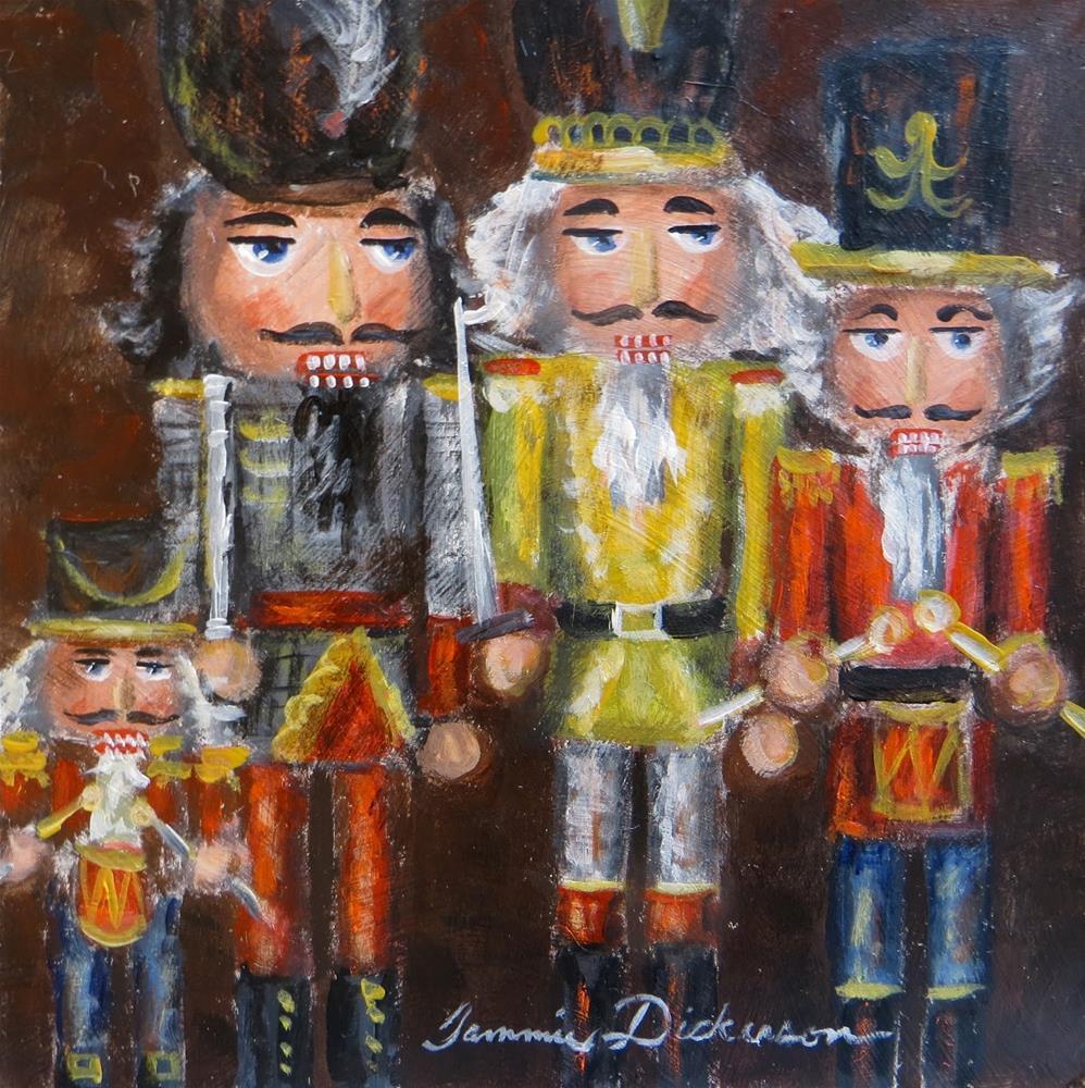 """Fab Four"" original fine art by Tammie Dickerson"
