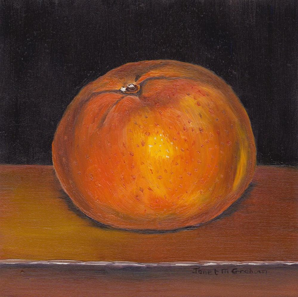 """Mandarin"" original fine art by Janet Graham"