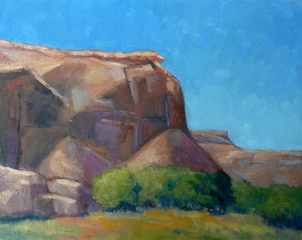 """""""Light in the Canyon"""" original fine art by Lisa Kyle"""