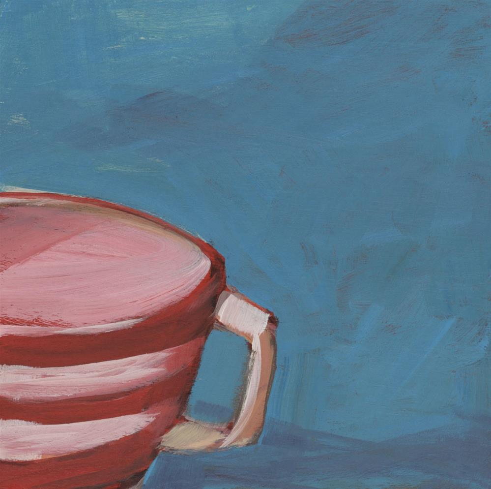 """""""0983: Early Morning Coffee"""" original fine art by Brian Miller"""