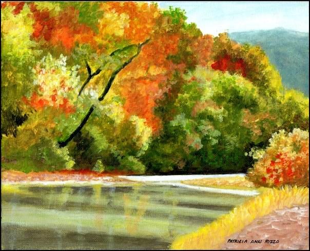 """""""So Serene"""" original fine art by Patricia Ann Rizzo"""