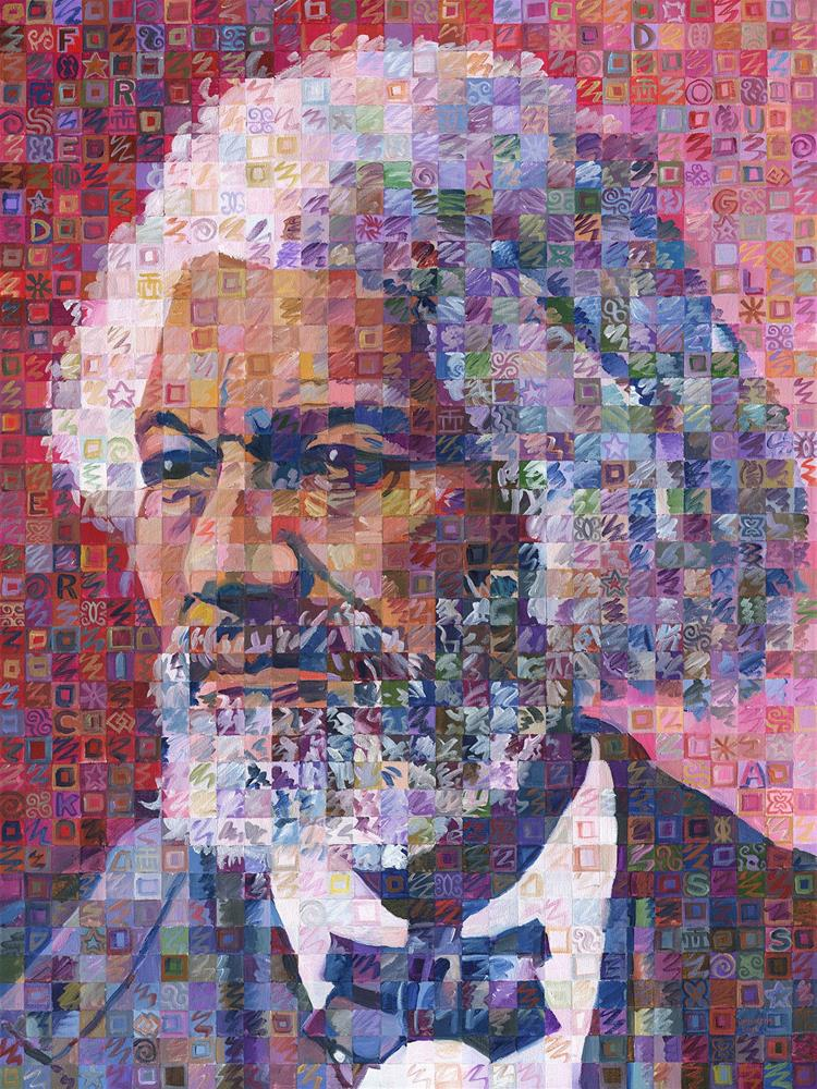 """Voices Of Freedom – Frederick Douglass"" original fine art by Randal Huiskens"