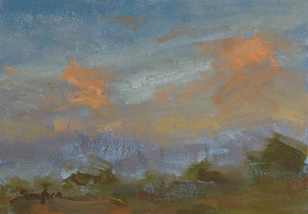 """Summer Sunrise 02"" original fine art by Scott Serafica"
