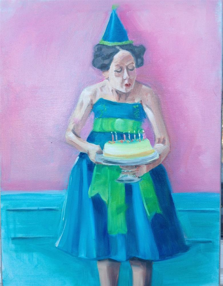 """Solo Celebration"" original fine art by Bev Thibault"