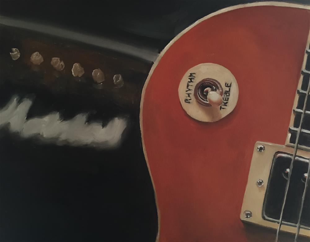 """""""Gibson and Marshall"""" original fine art by James Coates"""