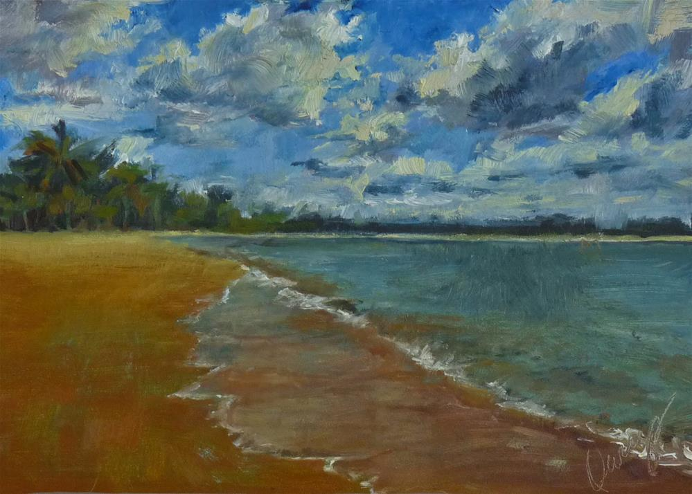 """Dream Vacation"" original fine art by Sharman Owings"
