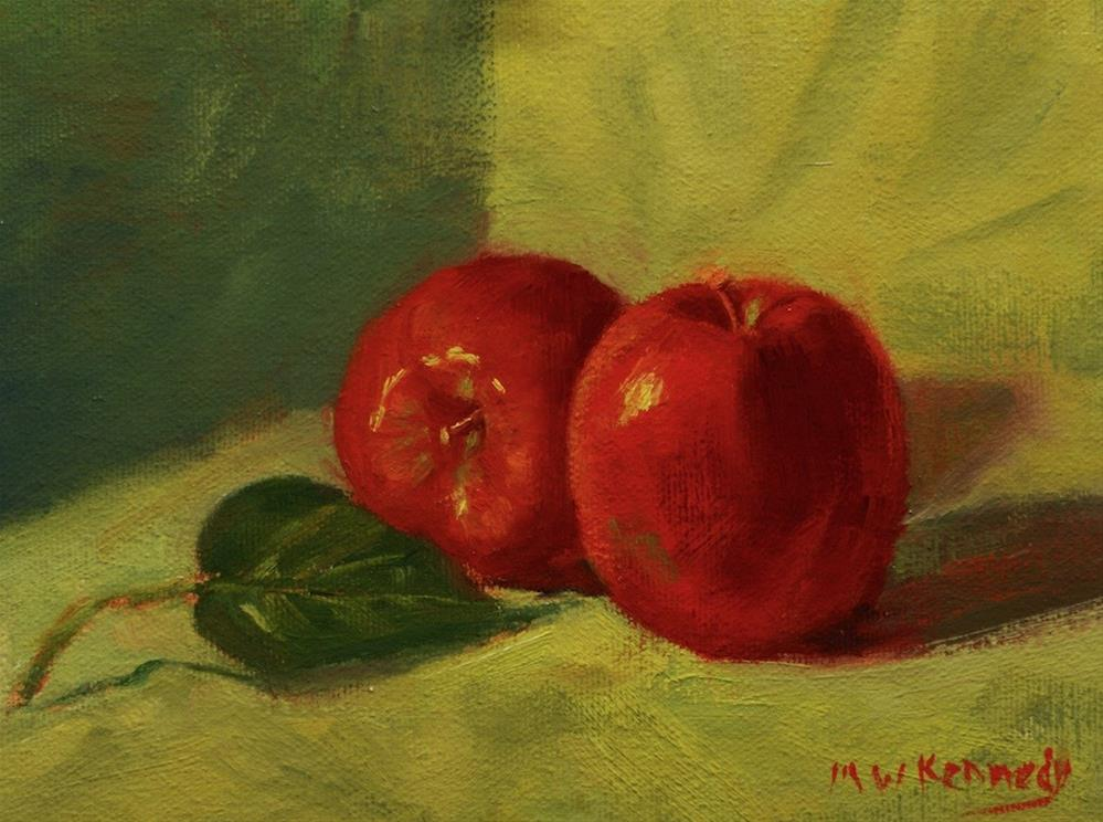 """Adam and Eve"" original fine art by Michael Kennedy"