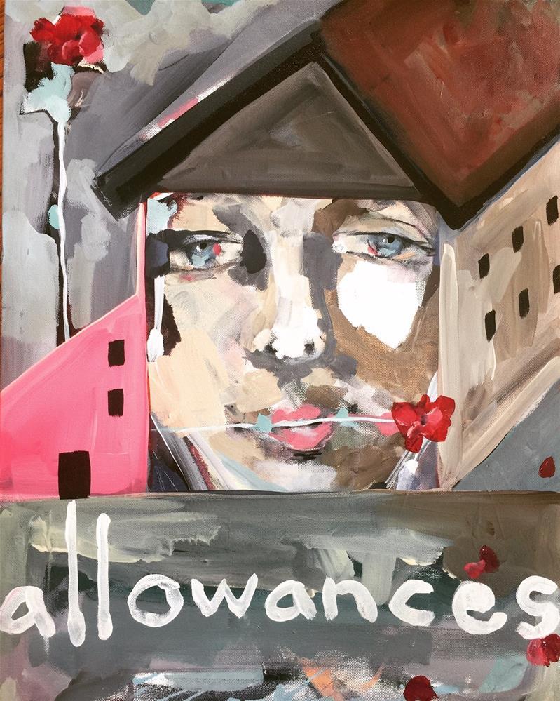 """499 Allowances"" original fine art by Jenny Doh"