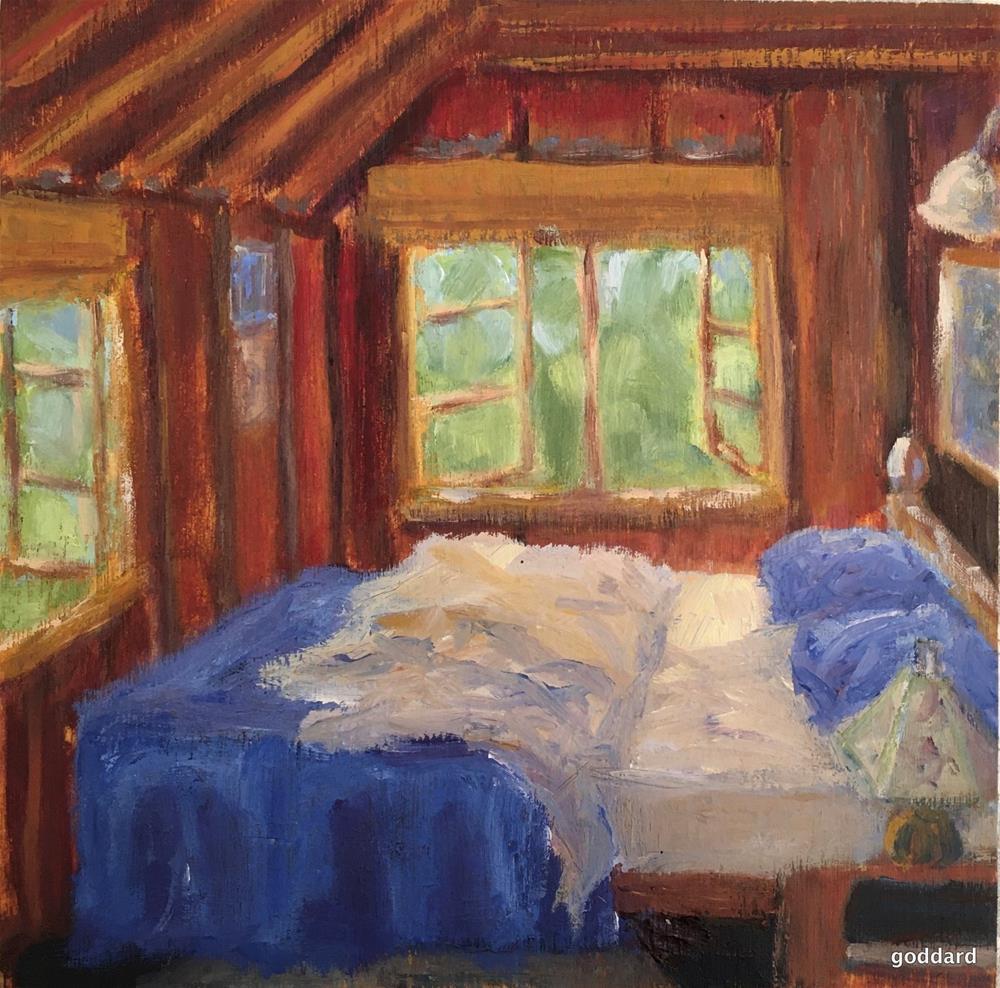 """Sweet Dreams"" original fine art by Shari Goddard Shambaugh"