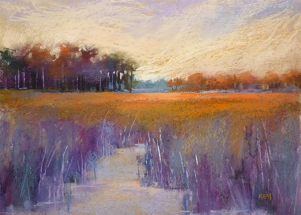 """Landscape Painting Tip of the Week...The Sun Tool"" original fine art by Karen Margulis"