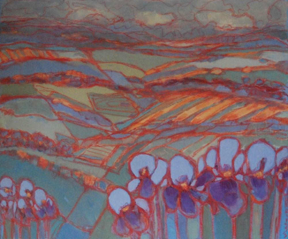 """landscape 2"" original fine art by Vicki Wood"
