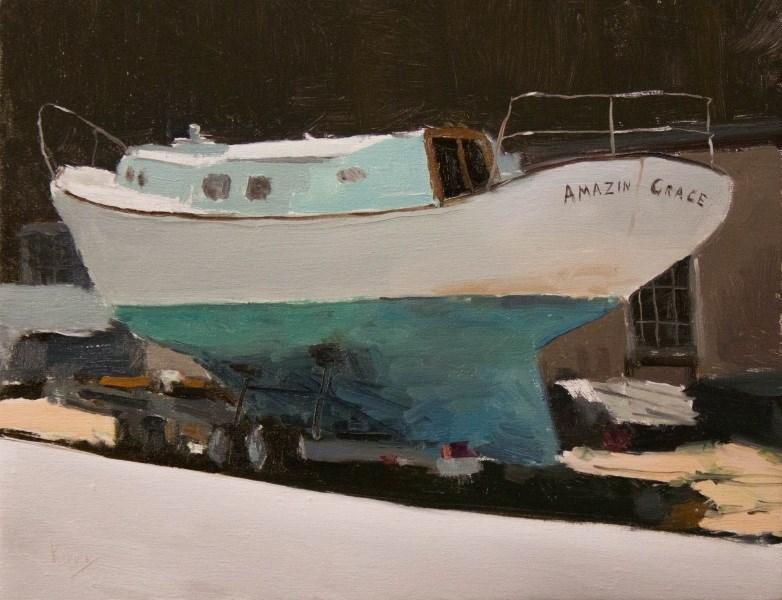"""Curbside"" original fine art by Randall Cogburn"